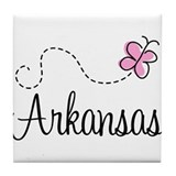 Pretty Arkansas Tile Coaster