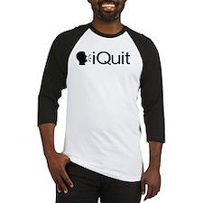 iQuit (Black) Baseball Jersey