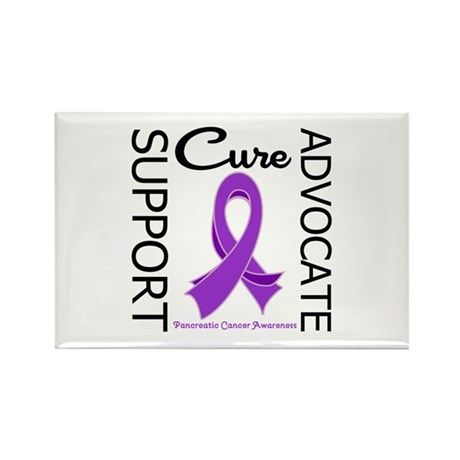 PancreaticCancerSupport Rectangle Magnet