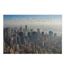 NY Skyline Facing East Postcards (Package of 8)