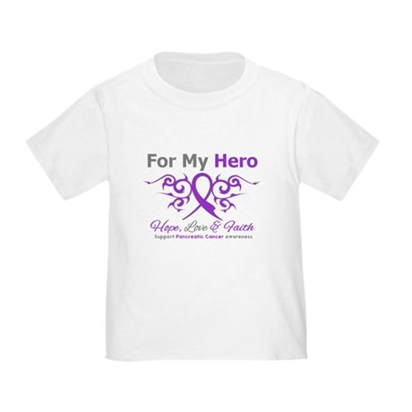 Pancreatic Cancer ForMyHero Toddler T-Shirt