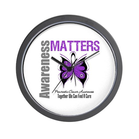 Awareness PancreaticCancer Wall Clock