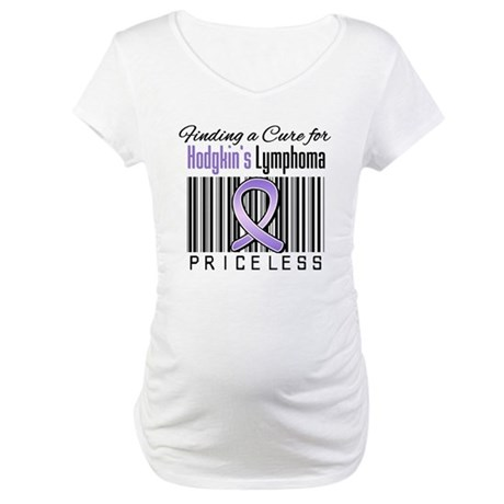 Cure Hodgkin's Disease Maternity T-Shirt