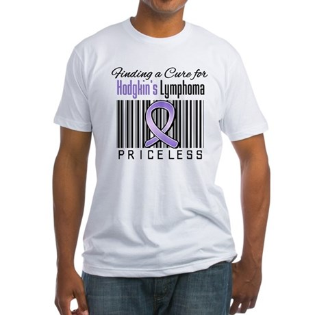 Cure Hodgkin's Disease Fitted T-Shirt