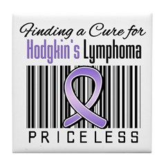 Cure Hodgkin's Disease Tile Coaster