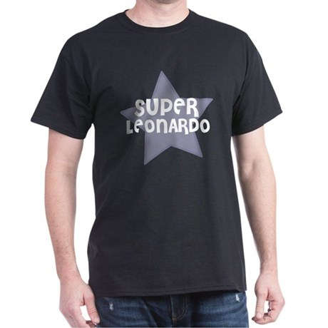 Super Leonardo Black T-Shirt