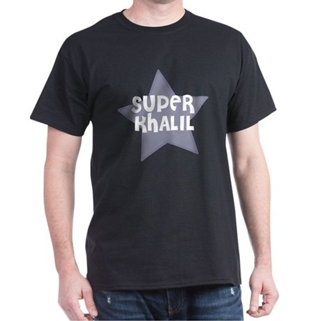 Super Khalil Black T-Shirt
