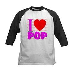 I Love POP Kids Baseball Jersey