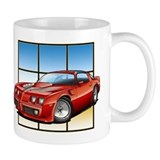 79-81 Trans Am Red Small Mug