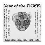 2010 - Year of the Tiger Tile Coaster