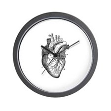Cute Anatomical Wall Clock