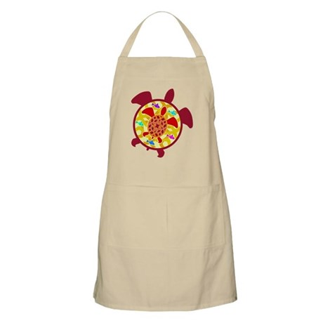 Turtle Within Turtle Apron