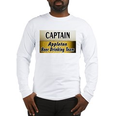 Appleton Beer Drinking Team Shop Long Sleeve T-Shi