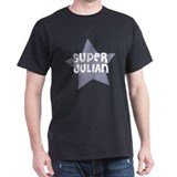 Super Julian Black T-Shirt