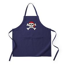 Funny Pirate Apron (dark)