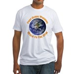 Fight Global Warming Walk To The Gym Shirt