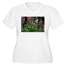 Hollyhocks T-Shirt