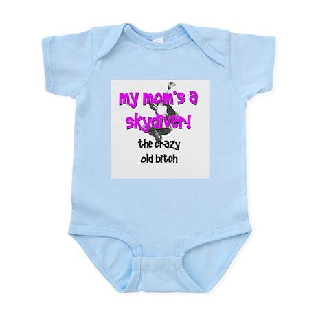 Skydiver' kid Infant Creeper