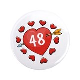 48th Valentine 3.5&quot; Button (100 pack)