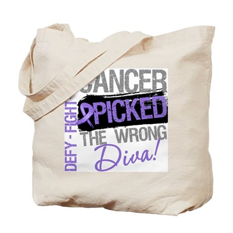 WrongDivaHodgkinsDisease Tote Bag
