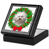 Bolognese Christmas Keepsake Box