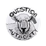 "Question Authority 3.5"" Button"