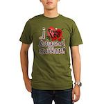 I Freakin LOVE Edward Cullen! Organic Men's T-Shir