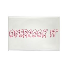 Overcook It Rectangle Magnet (100 pack)