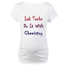 Lab Techs Do It With Chemistry Shirt