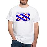 Friesland Frisian Flag White T-Shirt