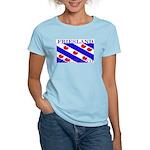 Friesland Frisian Flag Women's Pink T-Shirt