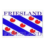 Friesland Frisian Flag Postcards (Package of 8)