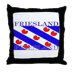 Friesland Frisian Flag Throw Pillow