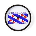 Friesland Frisian Flag Wall Clock