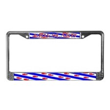 Friesland Frisian Flag License Plate Frame