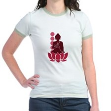 Praying Buddha (Red) T