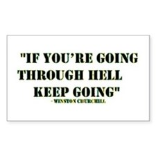 If you're going through hell... Decal