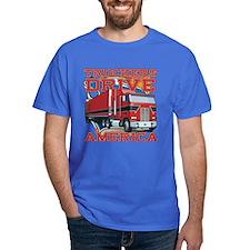 Truckers Drive America T-Shirt