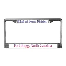 82ND ABN DIV License Plate Frame