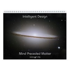 """Mind Preceded Matter"" Wall Calendar"