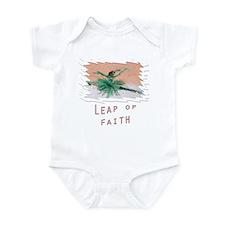 leap of faith Infant Bodysuit