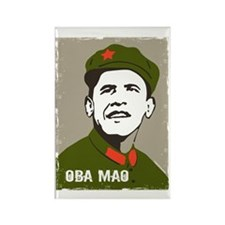 Obama Mao Rectangle Magnet