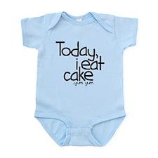 Today I Eat Cake Onesie
