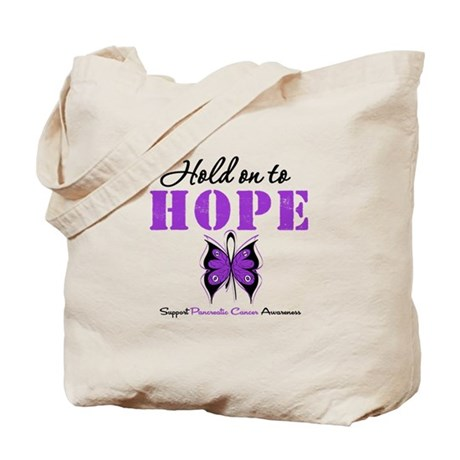 Pancreatic HoldOnToHope Tote Bag