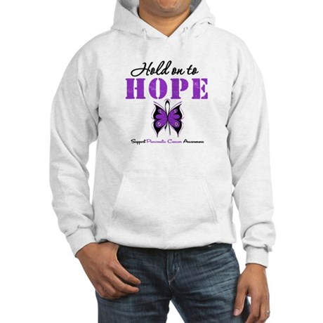 Pancreatic HoldOnToHope Hooded Sweatshirt