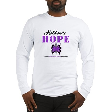 Pancreatic HoldOnToHope Long Sleeve T-Shirt
