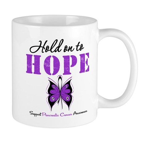 Pancreatic HoldOnToHope Mug