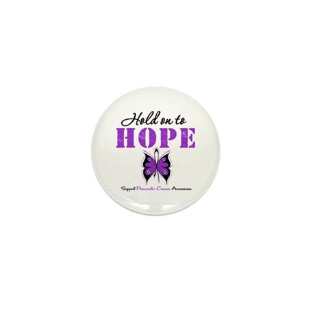 Pancreatic HoldOnToHope Mini Button (100 pack)