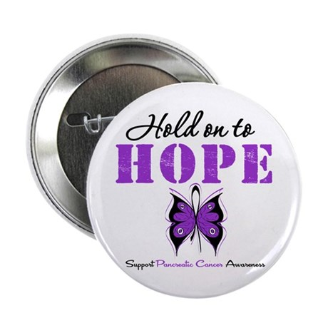 Pancreatic HoldOnToHope 2.25&quot; Button