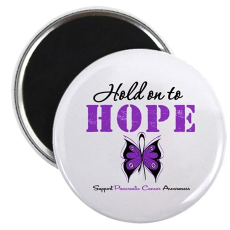 Pancreatic HoldOnToHope 2.25&quot; Magnet (10 pack)